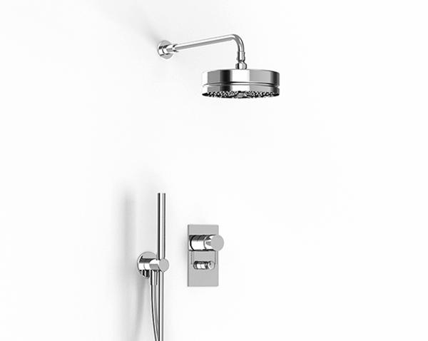Mit duschbrause einlauf Einen Einlauf